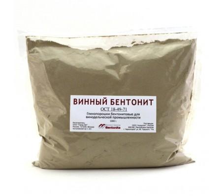 Винный Бентонит 1 кг.